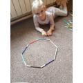 Blanka's octagon of felt tips