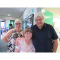 (L-R) Mrs Bedford, Mrs Ferguson, Mr Eaves