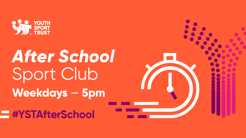 The After School Sport Club will be led by YST Athlete Mentors!