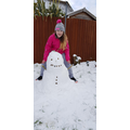 Grace's Snowman