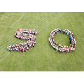 The drone captured our '50'