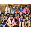 13 children from our school swim squad went