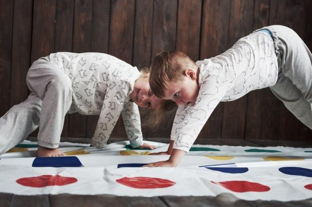 Active games like Twister