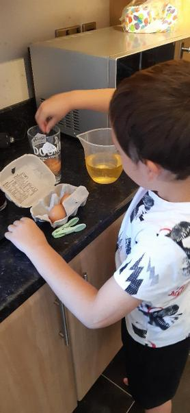 Egg experimenting!