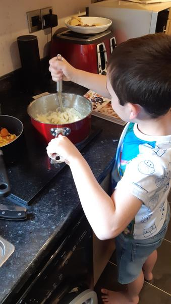The next master chef!