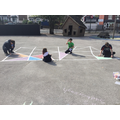 Making the playground colourful!