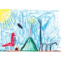 Tibbie's dinosaur land design