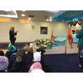 We where shown how Sikhs worship their scriptures.