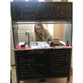 Ellie's home shop is ready for business!
