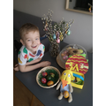 Konrad's super Easter crafts