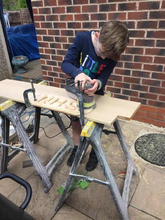 Kody the carpenter