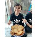 Yummy cookies Shahzad!