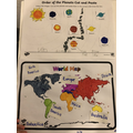 Vito's brilliant science and geography work!