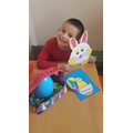 Lovely Easter crafts from Kristoffer