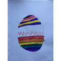 A beautiful Easter egg by Joe!