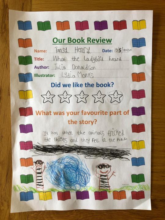 Tansy's book rview.