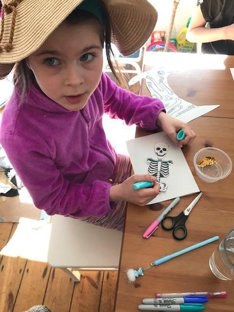 Jasmina busy at work