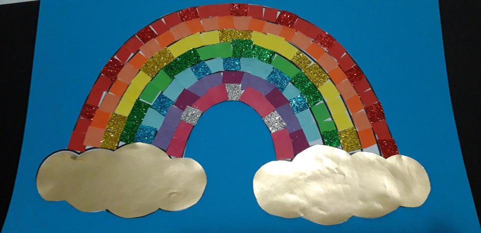 Sophie's beautiful Rainbow