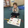 Oscar's fabulous maths!
