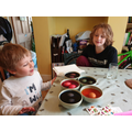 Dyeing and decorating eggs
