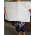 Ashaan's fab numbers and writing!