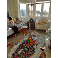 An awesome lego tower!