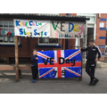 VE Day banners