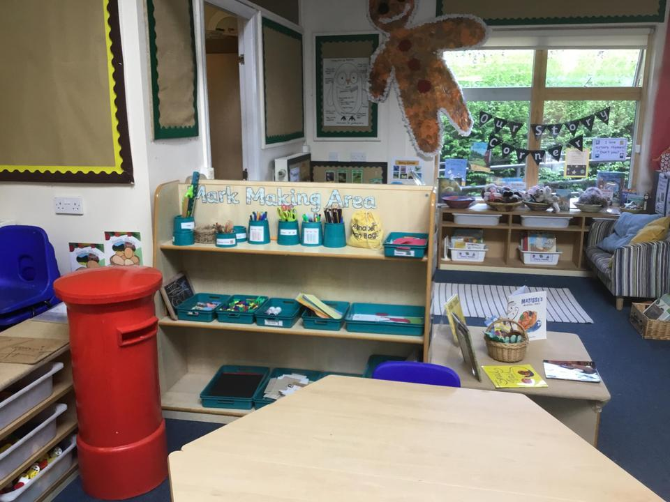 Our Mark Making Area