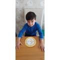 Shahzad's clock