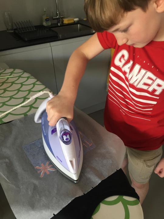 Great ironing Kody