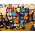 4A's felt making Eye of Horus