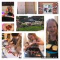 Ellie has had lots of fun celebrating VE day!