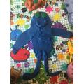 Seb's 'blue zombie'