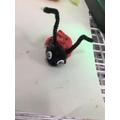Egg carton creations - ladybird!