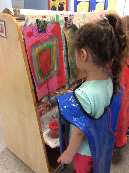 Elmer painting