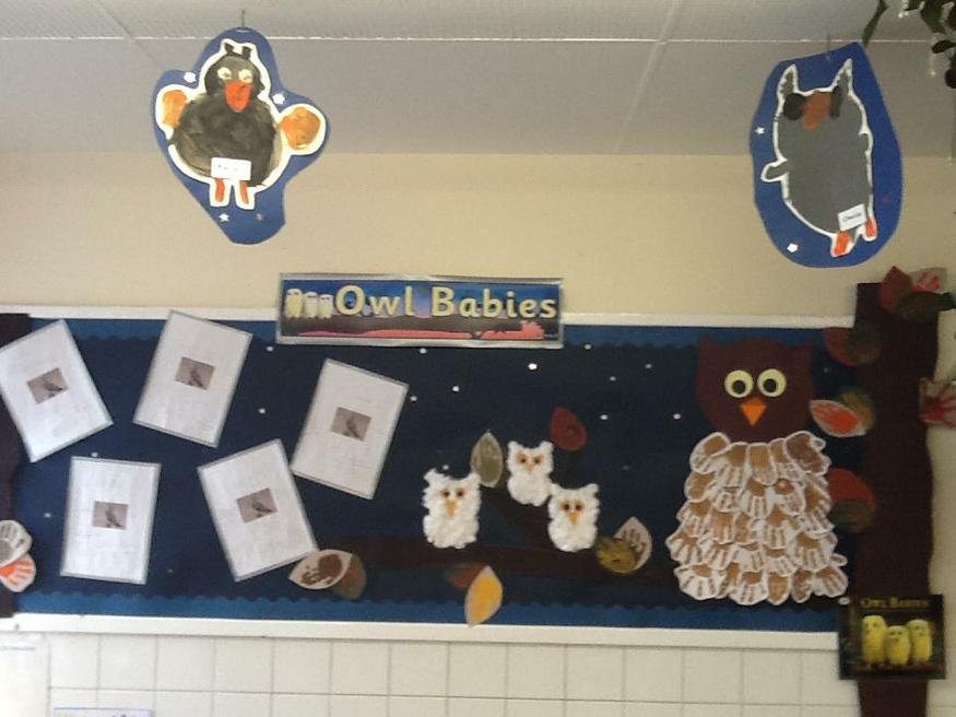 Our wonderful work and paintings about Owls.