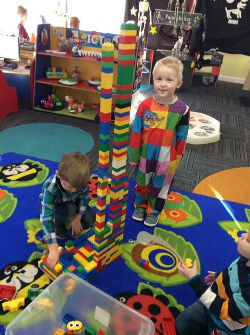 An Elmer tower!