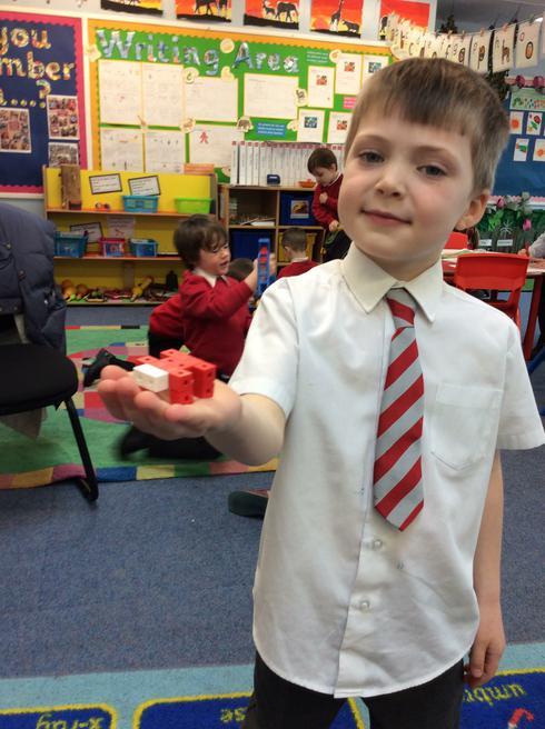 Louis made a spider.