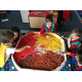 Painting pasta