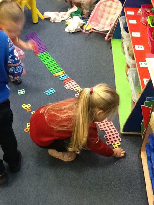 Exploring 'Numicon'