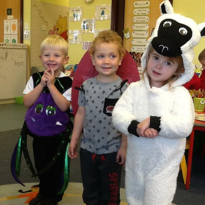 Baa Baa White Sheep, Little ladybird, Incy Wincey