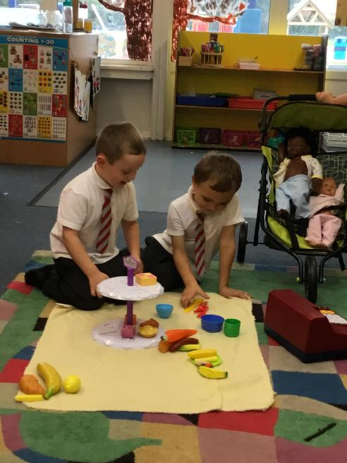 Counting out 5 objects