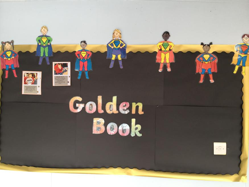 Who will be next on our Golden Book wall?
