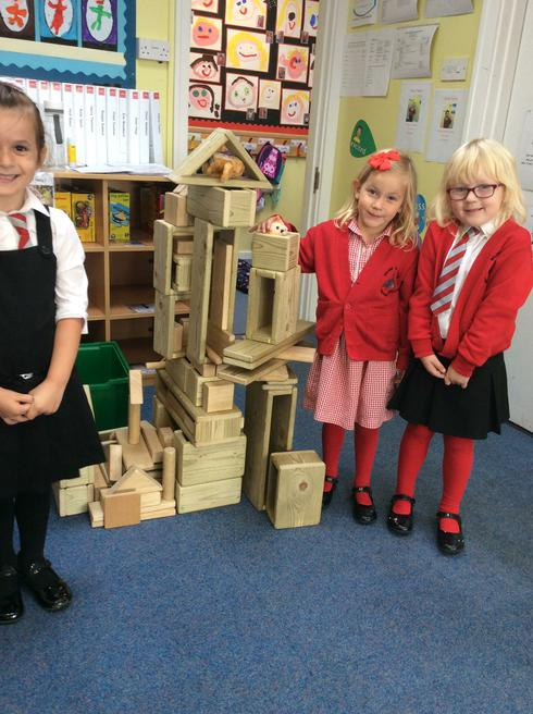 Look at their tall owl baby house!