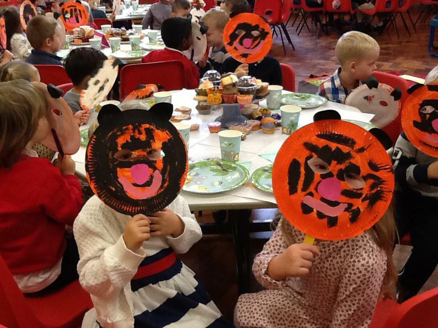 Our Tiger Tea Party!