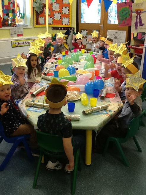 Lots of party food to enjoy!