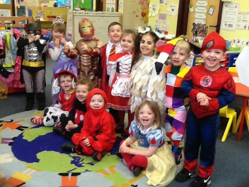 World Book Day Morning Children