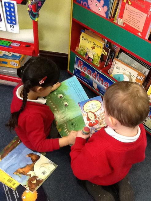 Sharing a story with a friend