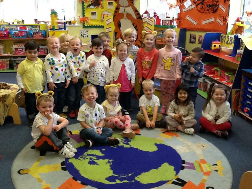 Pudsey Bear Day