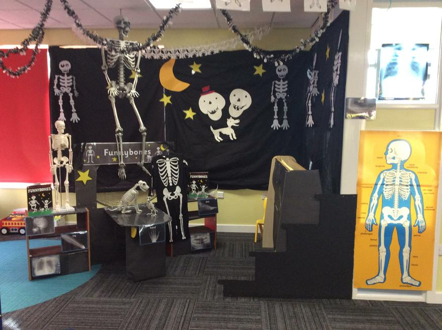 Our 'FunnyBones' role play area